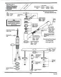 delta saxony kitchen faucet delta pull out kitchen faucet repair parts one handle saxony