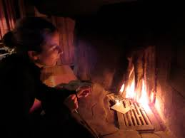 a cabin dripping with hygge a fireless fire a journey over a