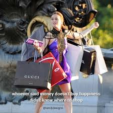 gossip gossip quotes blair waldorf shopping quotes