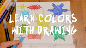 Color For Happy Learn Color For Kids Children And Babies Drawing Happy Fun
