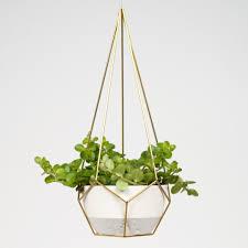 hanging planter prism van draadzaken himmelis pinterest