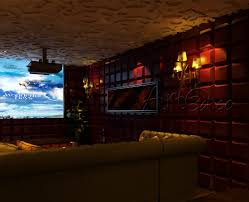 Home Theatre Wall Decor Hall Stairs And Landing Decorating Ideas Architecture Design