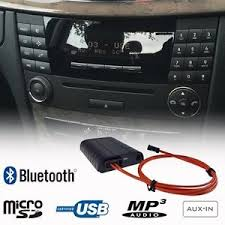 mercedes e class bluetooth bluetooth a2dp usb sd aux adapter car kit mercedes