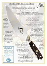 zelite infinity chefs knife 8 inch knife important kitchen