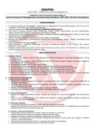 Sample Resume For Experienced Hr Executive by Sample Resume For Experienced Hr Executive Free Resume Example