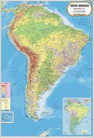south america map atlas south america physical map south america physical map exporter