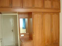 simple bedroom wardrobe designs with mirror for your interior home
