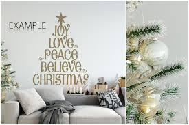 Christmas Wall Pictures by Christmas Wall Mockups By Yuri U Design Bundles