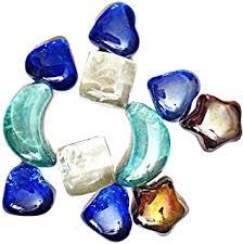 Vase Stones Amazon Com Miracolors 1 Lb Mixed Colors Glass Gems Vase