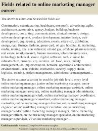 Sample Marketing Director Resume by Top 8 Online Marketing Manager Resume Samples
