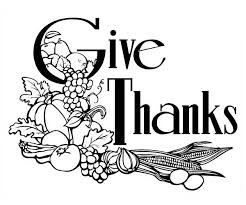 give thanks to our lord on canada thanksgiving day coloring page
