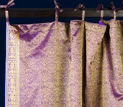 Sari Curtain Lavender Paisley Sari Curtains Home Inspiration Pinterest