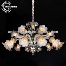 Chandelier Antique Brass Large American Antique Brass Alloy Crystal Chandelier Flower