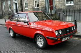 Mk2 Escort Rs2000 Interior Pristine 1980 Ford Escort With Just 12 000 Miles On The Clock Goes