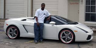 shiny silver lamborghini 23 best rides in nfl history bleacher report