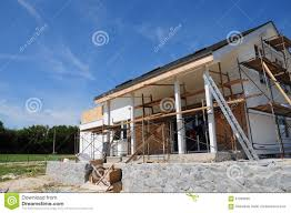 painting and plastering exterior house tower wall facade thermal