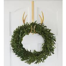 antler wreath hanger mud pie