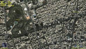 Tehran Map Ikonos Satellite Image Tehran Iran Satellite Imaging Corp