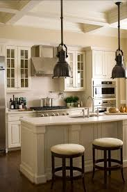 White Paint Kitchen Cabinets Delighful Painted Off White Cabinets With Cream Colored Pictures