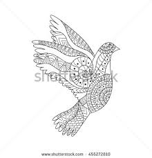 hand drawn hippie peace symbol anti stock vector 367806899