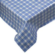 Round Kitchen Table Cloth by Tablecloth Traditional Gingham Check 100 Cotton Picnic Kitchen