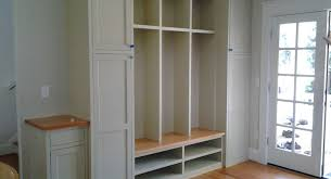 how to build a mudroom bench with cubbies home decorating