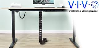amazon com vivo vertebrae cable management kit height adjustable