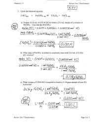stoichiometry worksheet 2 answer key ws answer key ms kims classes