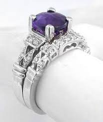 amethyst engagement ring sets my wedding ring set only needs to princess cut