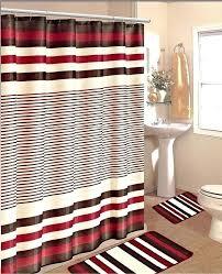 Bathroom Shower Curtain And Rug Set Splendid Bathroom Curtains Set Parsmfg