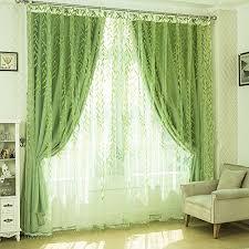 Leaf Pattern Curtains Leaf Pattern Curtains Amazon Com