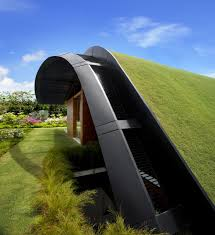 architecture tropical modern house design with amazing grass
