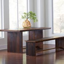 dining tables reclaimed wood and steel dining table salvaged