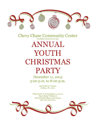 christmas party email template template design