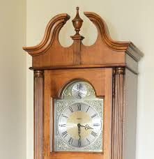 grandfather clock howard miller tempus fugit grandfather clock ebth