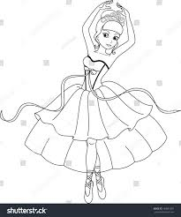 coloring pages ballerina coloring pages mycoloring free