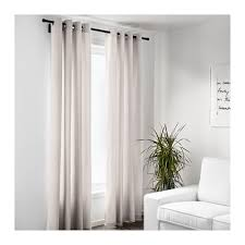 Beige And Gray Curtains Merete Curtains 1 Pair 57x98 Ikea