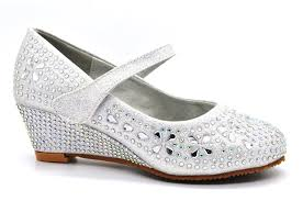 silver wedding shoes wedges wedding shoes ideas toes rhinestones fron sling wedge