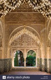moorish architecture details of moorish architecture inside the alhambra palace