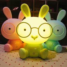 best light for sleep new baby room night light eyewear bunny cartoon night sleep