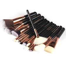 15 pieces set good quality makeup brushes professional foundation powder blush cosmetics make up brush