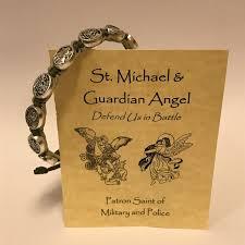 battle saints bracelets st michael guardian angel bracelet stuff i want