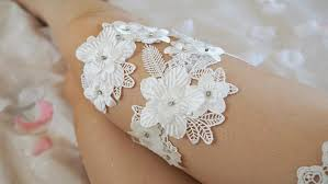 garters for wedding 30 handmade wedding garters to die for stay at home
