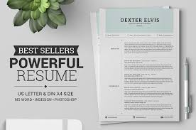 Strong Resume Words 50 Best Resume Templates For Word That Look Like Photoshop Designs