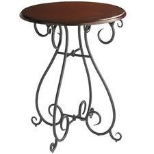 Pier One Bar Table Chesington Bar Table Tuscan Brown Faux Realz Wrought Cast