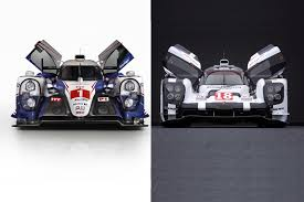porsche 919 top view contenders ready porsche and toyota u0027s 2015 le mans racers