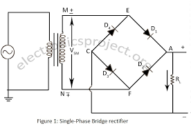 how to make 1n4007 bridge rectifier by using four diode throughout