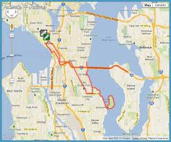 seattle map eastlake seattle map travelsfinders