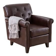 Leather Club Armchair Accent Chairs Joss U0026 Main
