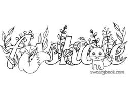 swear words coloring book pages swear words coloring